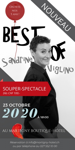 Souper-Spectacle - 23 octobre
