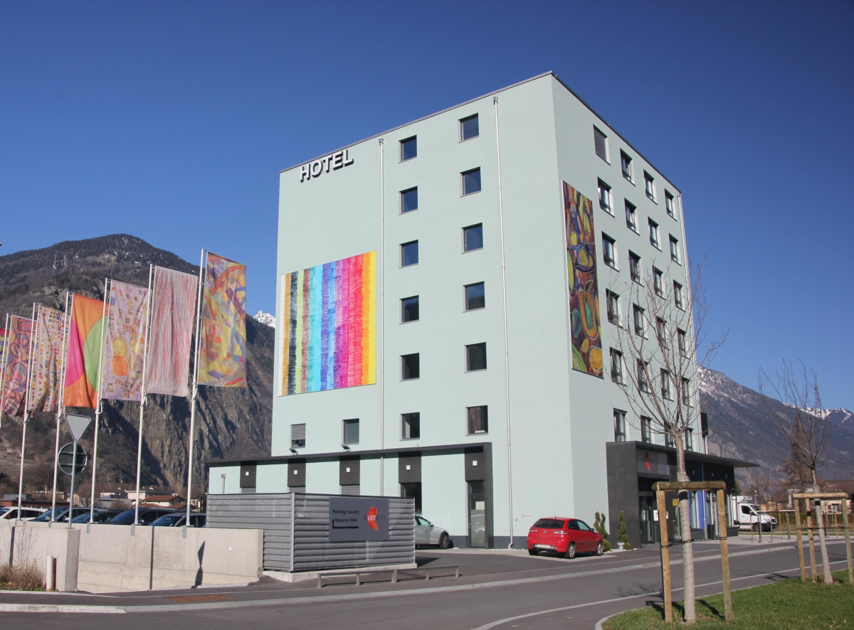 Ext rieur martigny boutique h tel valais suisse for Martigny hotel boutique